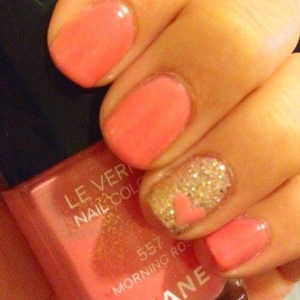 Nail art unghie decorazione glitter 2013