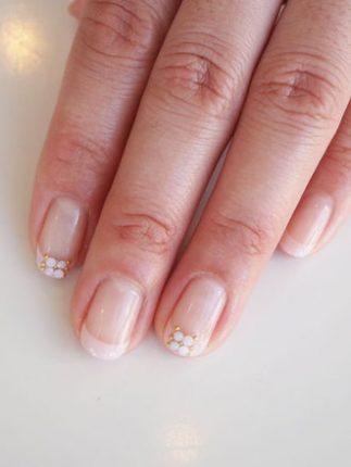 Nail art unghie decorazione sposa 2013
