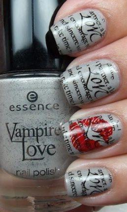 Nail art unghie decorazione stampe 2013