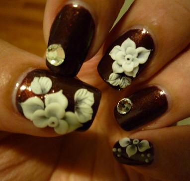 Nail art 3D