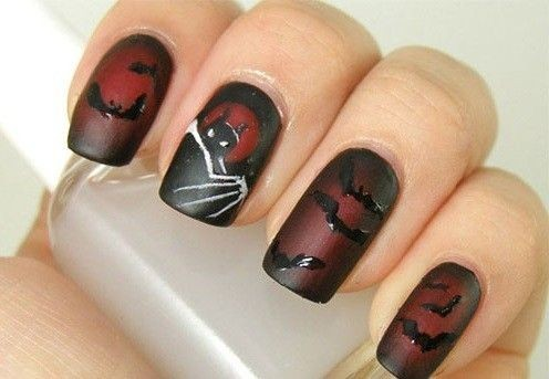 Nail art Batman