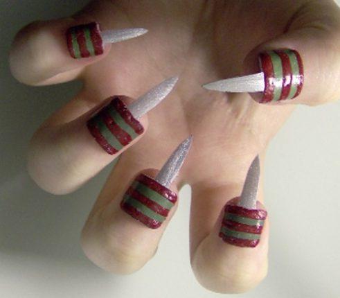 Nail art Nightmare unghie Halloween