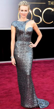Naomi Watts abito oscar 2013