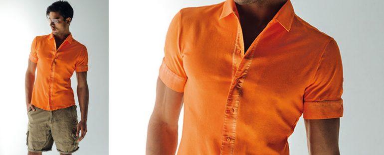 Nara Camicie primavera estate 2014 camicia uomo manica corta