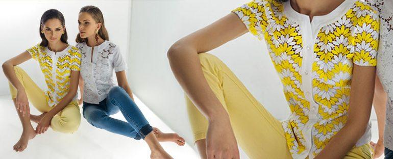 Nara Camicie primavera estate 2014 camicie in pizzo donna