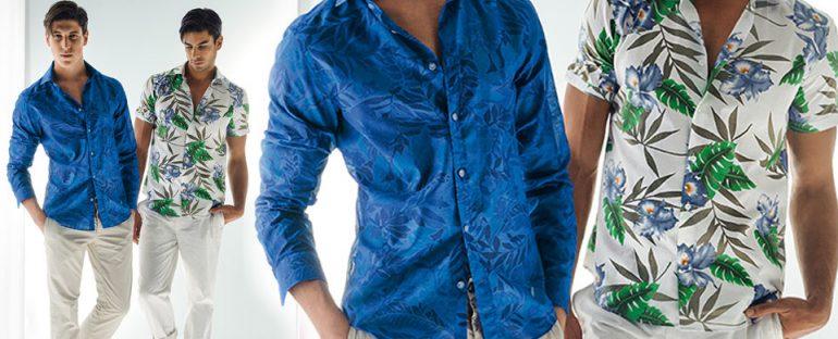 Nara Camicie primavera estate 2014 camicie uomo stampate