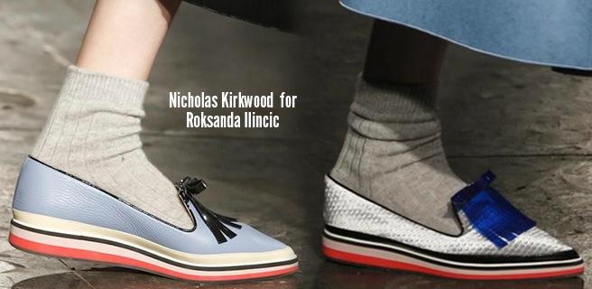 Nicholas Kirkwood scarpe catalogo autunno inverno 2014 2015