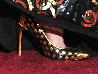 Nicole Kidman scarpe oscar 2013