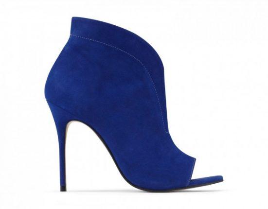 Open-toe blu Aldo scarpe autunno inverno 2015