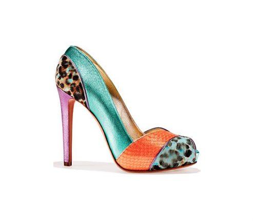 Open toe scarpe Gaetano Perrone primavera estate