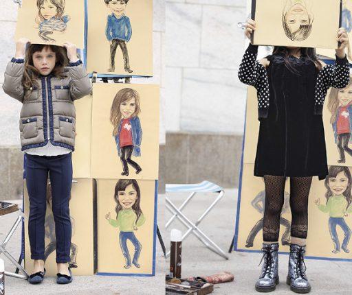 Outfit bambini Benetton autunno inverno 2013 2014