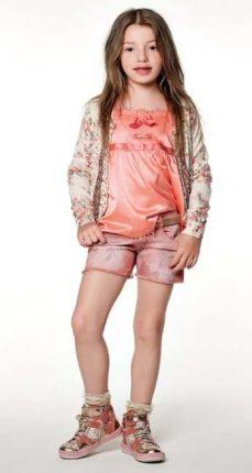 Pantaloncini e top Twin Set bambini primavera estate 2013
