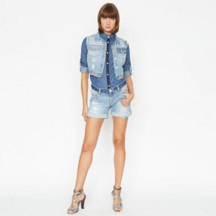 Pantaloncini jeans Pinko primavera estate 2014