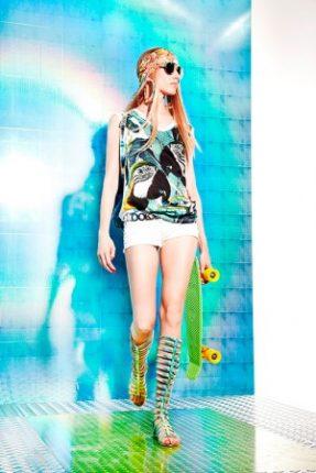 Pantaloncini Just Cavalli primavera estate 2014