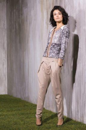 Pantalone cipria di Rinascimento primavera estate