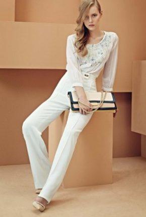 Pantalone diritto Elisabetta Franchi primavera estate