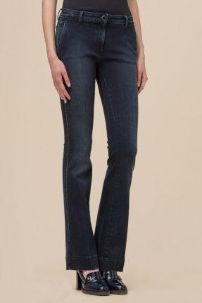 Pantalone jeans a zampa Luisa Spagnoli inverno 2017