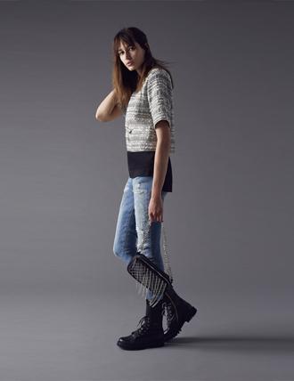 Pantalone jeans Pinko autunno inverno 2015