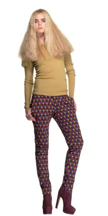 Pantaloni a pois Fornarina autunno inverno 2013 2014