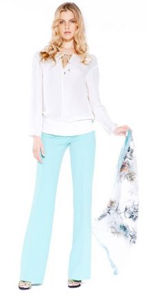 Pantaloni a zampa Guess primavera estate 2014
