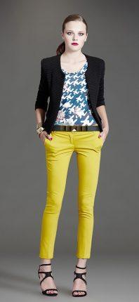 Pantaloni colorati Artigli autunno inverno 2015