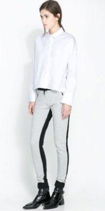 Pantaloni con riga laterale Zara primavera estate 2014