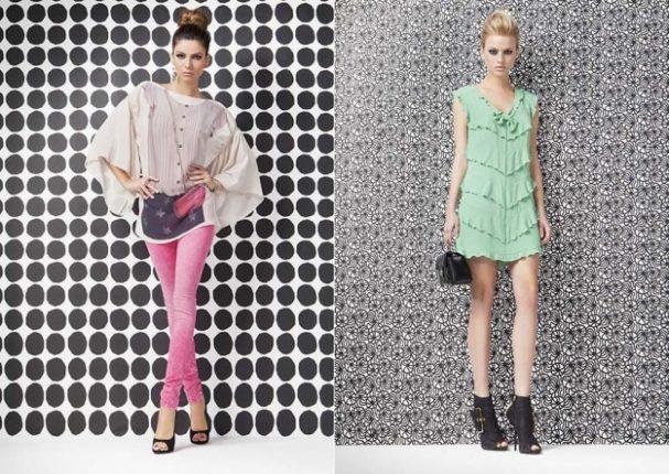 Pantaloni e blusa Denny Rose primavera estate 2013