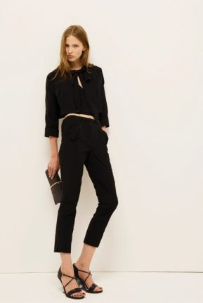 Pantaloni e giacchino Nina Ricci primavera estate 2014