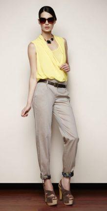 Pantaloni e maglietta Oltre primavera estate 2013