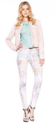 Pantaloni fiori Guess primavera estate 2014