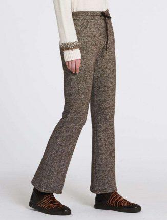 Pantaloni in tweed Pennyblack autunno inverno 2017
