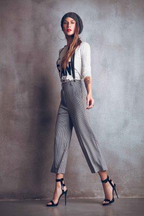 Pantaloni larghi Denny Rose autunno inverno 2015