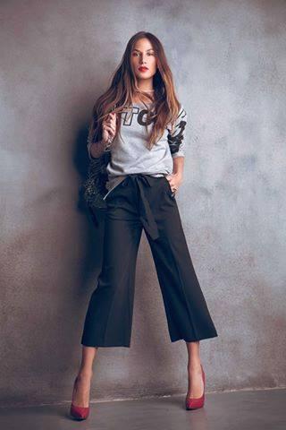 Pantaloni pinocchietto Denny Rose autunno inverno 2015