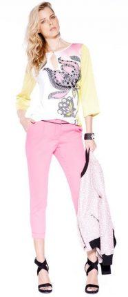 Pantaloni pinocchietto Guess primavera estate 2014