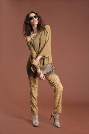 Pantaloni stampati Giorgia & Johns primavera estate 2014