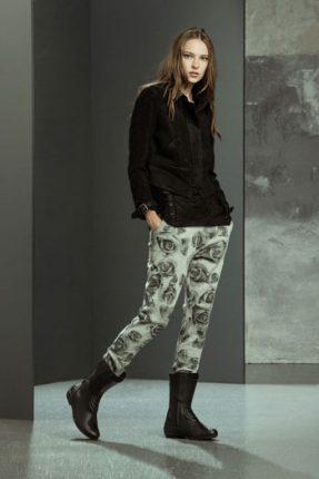 Pantaloni stampati Imperial autunno inverno 2015
