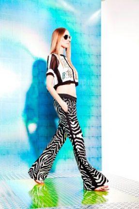 Pantaloni stampati Just Cavalli primavera estate 2014