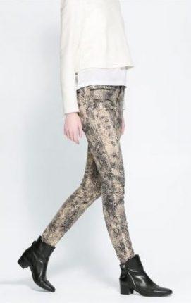 Pantaloni stampati Zara primavera estate 2014