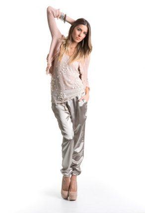 Pantaloni stretti ala caviglia Giorgia & Johns primavera estate 2014