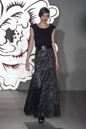 Paola Frani autunno inverno 2013 2014 gonna lungha