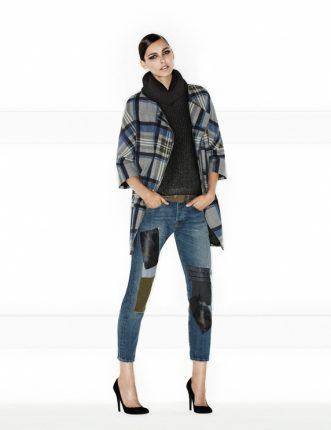 Pinko autunno inverno 2013 2014 giaccone e jeans