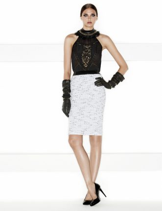 Pinko autunno inverno 2013 2014 top e gonna