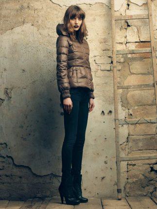 Piumino con cintura Fornarina autunno inverno 2015