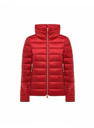 Piumino rosso Save The Duck inverno 2017