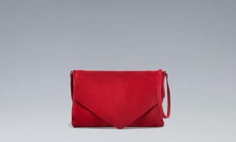 Pochette rossa Zara primavera estate 2013