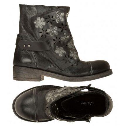 Polacchini con lacci Viamaestra scarpe autunno inverno 2014 2015