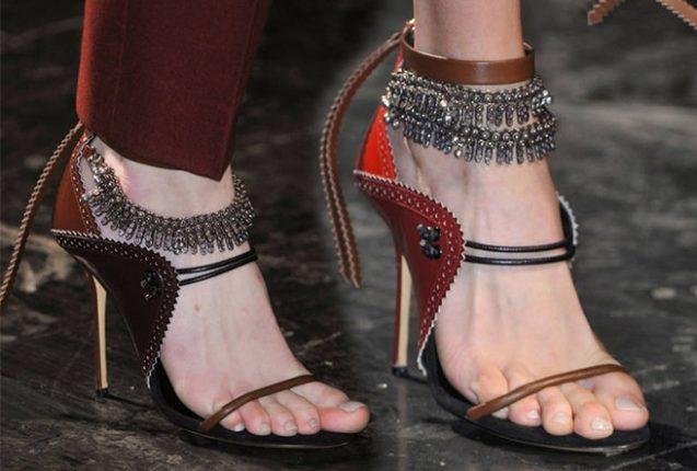 Prabal Gurung scarpe catalogo autunno inverno 2014 2015