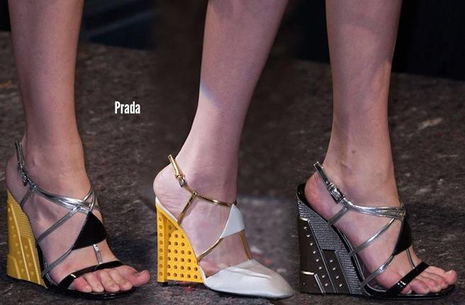 Prada scarpe catalogo autunno inverno 2014 2015