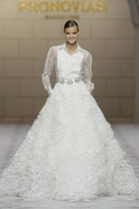 Pronovias 2015 abito sposa con cintura
