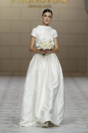 Pronovias 2015 abito sposa senza scollatura